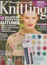 KNITTING MAGAZINE UK #94 OCTOBER 2011, SEALED.