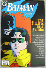 Batman #427 SPANISH ZINCO Variant! A Death in the Family Part #2 Mike Mignola!