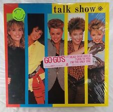 Go-Go's Talk Show NM IRS Records SP 70041 AMEX Vinyl Shrink Hype Lyrics 1984