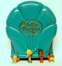 Vintage Polly Pocket 1995 Splash 'n Slide Water Park 100%Complete Excellent cond