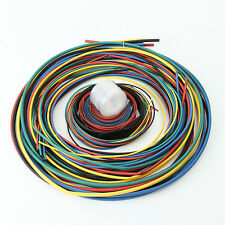 55M 2:1 Heat Shrink Tubing 11 sizes 6 Colours Tube Sleeving Wrap Wire Cable