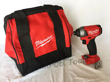 "Milwaukee FUEL M18 1/4"" Brushless impact Drill & Bag (2753-20) (New From Kit)"