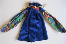 Vtg Barbie Doll CUSTOM HOMEMADE HANDMADE Clothes Velour Dress Shakespeare Wow!