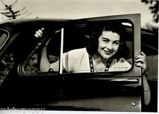 Girl & Car Bellezze e Motori Dolce Vita Automobile PC Circa 1960 Real Photo 8
