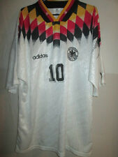 "Germany WC 1994 Matthaus 10 Home Football Shirt Size 44""-46"" /34486"