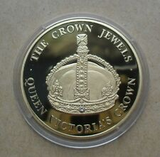 """2004 TURKS & CAICOS 5 CROWNS THE CROWN JEWELS """"QUEEN VICTORIA'S CROWN"""""""