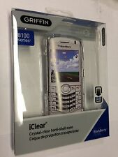 Griffin iClear Hard Plastic Case For Blackberry Pearl 8110 8120 8130 24005-BPCLR