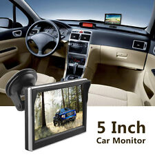 HD Windshield 2-CH Color 5 Inch TFT LCD Car Rear View Monitor Support GPS DVD