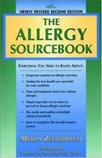 The Allergy Sourcebook Everything You Need to Know BOOK Symptoms Reactions GOOD