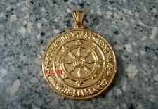 Feng Shui = Powerful Protection Against 8 Kinds of Black Magic Medallion Pendant