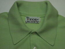 Izod Lacoste Men's Size S Short Sleeve Solid Green Polo Shirt 4904