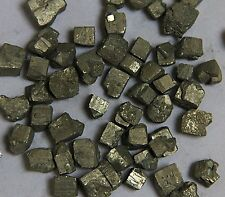 100g (About 15-30 pcs) RARE ! NATURAL Iron Pyrite Cubes STONE SPECIMEN