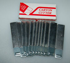 Jiffy BOX CARTON CUTTER COMPACT UTILITY RETRACTABLE RAZOR KNIFE package of 12