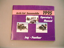 1995 Arctic Cat Jag, Panther Owner's / Operator's Manual