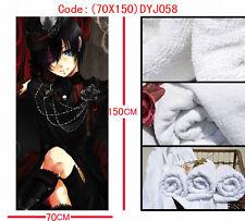 Neu! Black Butler Kuroshitsuji Anime Manga Badetuch Strandtuch Handtuch 70x150cm