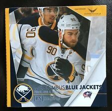 2015-16 Buffalo Sabres program 4/8/16 O'Reilly cover v Columbus Fan Appreciation