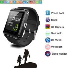 Men Bluetooth Wristwatch Fashion Smart Watch Mate For HTC M9 Motorola Moto E LG