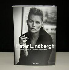 A DIFFERENT VISION ON FASHION PHOTOGRAPHY SIGNED PETER LINDBERGH &3 VOGUE MODELS