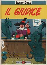 morris LUCKY LUKE 14 IL GIUDICE alessandro editore I CLASSICI 31 1990 roy bean