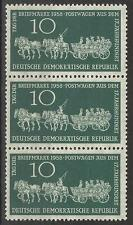 EAST GERMANY 1958 STAMP DAY 10pf MINT