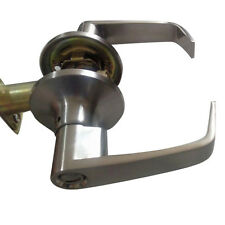 Entrance Keyed Entry Satin Chrome Commercial Door Handle Lock Grade 2 Lever Home