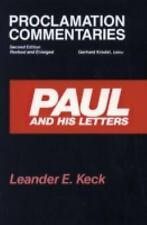 Paul and his Letters (Proclamation Commentaries) Leander E. Keck Paperback