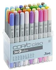 Copic ciao marker - 36C pen set-twin tipped - 36 unique couleurs * neuf *