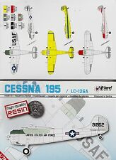 lhm020/ Lift Here Models - Cessna 195 - Resin - 1/72 - RARITÄT