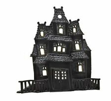 3D Haunted House Cake Topper Halloween Baking Frosting Decoration Spooky
