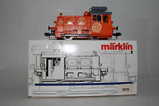 MARKLIN GAUGE 1 #5578 S'MANDARINLI DIESEL LOCOMOTIVE ENGINE, RARE SPECIAL ORANGE