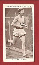 JOHN LOVELOCK New Zealand 1500 m World record 1938 original card