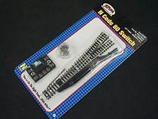 Atlas N-scale Code 80 Nickel Silver LEFT HAND LH #6 RemoteTurnout Switch #2704