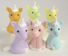 Iwako by Themes: New Magical Unicorn in 6 Pastel Colours Japanese Erasers from J