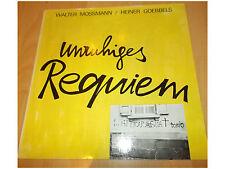 Walter Mossmann / Heiner Goebbels – Unruhiges Requiem - LP Booklet