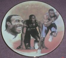 British Sporting Heritage Collectors Plate FOCUS ON GOLD - LINFORD CHRISTIE