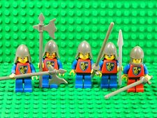 Lego minifigures + weapons Knights castle kingdom 80's 70's vintage EXC cond K14
