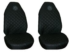 Front Seat Covers Waterproof for  Volkswagen VW T4 T5 T6 Crafter 1+1