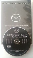 2008 2009 2010 2011 MAZDA5 MAZDA 6 RX-8 CX-9 NAVIGATION CD DVD MAP DISC B EAST
