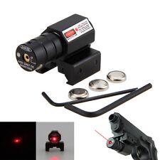 Rot Laser Dot Sight Leuchtpunktvisier Zielfernrohr 11mm&20mm Ziel Rotpunktvisier