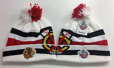 Chicago Blackhawks Reebok NHL 2017 Winter Classic Knit Stocking Hat Beanie Cap