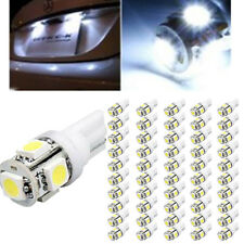 50X T10 5050 W5W 5 SMD 194 168 LED White Car Side Wedge Tail Light Lamp Bulb 12V