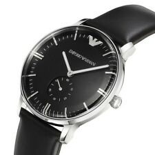 Emporio Armani Classic Analog Black Dial Men's Watch - AR0382