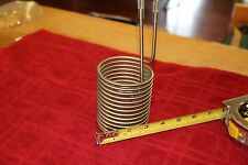 Stainless Steel Immersion Coil for small batch home brewer or distillery
