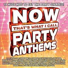 Now That's What I Call Party Anthems by Various Artists (CD, Aug-2012, Capitol)