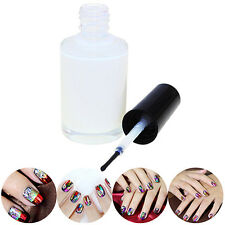 1Pc Pro White Glue Adhesive for Galaxy Star Foil Sticker Nail Art Transfer Tips