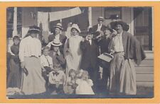 Real Photo Postcard RPPC - Crossdressed Men and Women Gay and Lesbian Interest