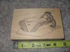 Stampa Rosa House Mouse #HM312 Address Rubber Stamp