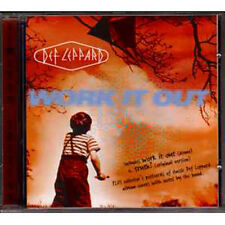 ☆ MAXI CD DEF LEPPARD Work it out - LTD ED collector ☆ INC POSTCARDS