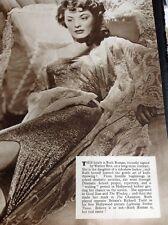 N1-1 Ephemera 1957 Picture Actress Ruth Roman