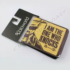 New Breaking Bad I AM THE ONE WHO KNOCKS Coin Pocket PU Purse/Wallet Loose #1